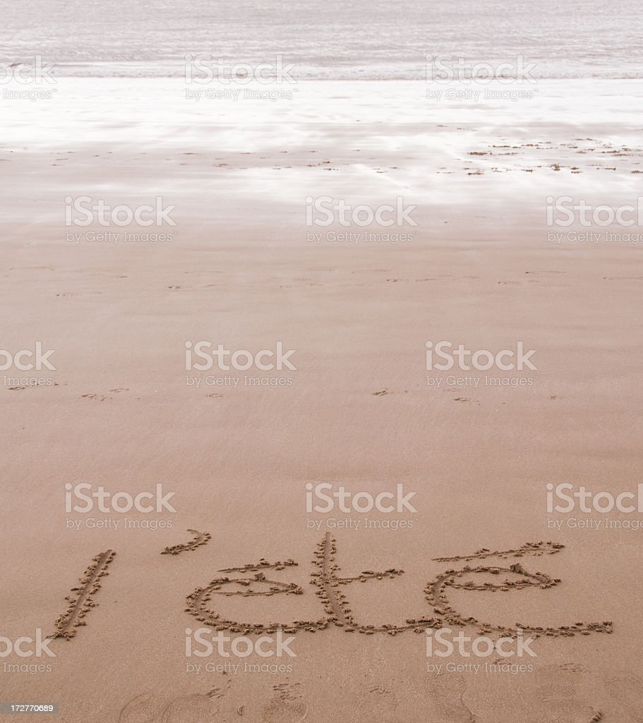 L'ete stock photo