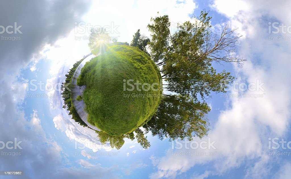 Summer Planet stock photo