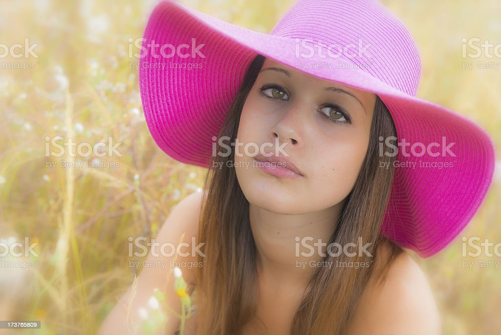 Summer Portrait royalty-free stock photo