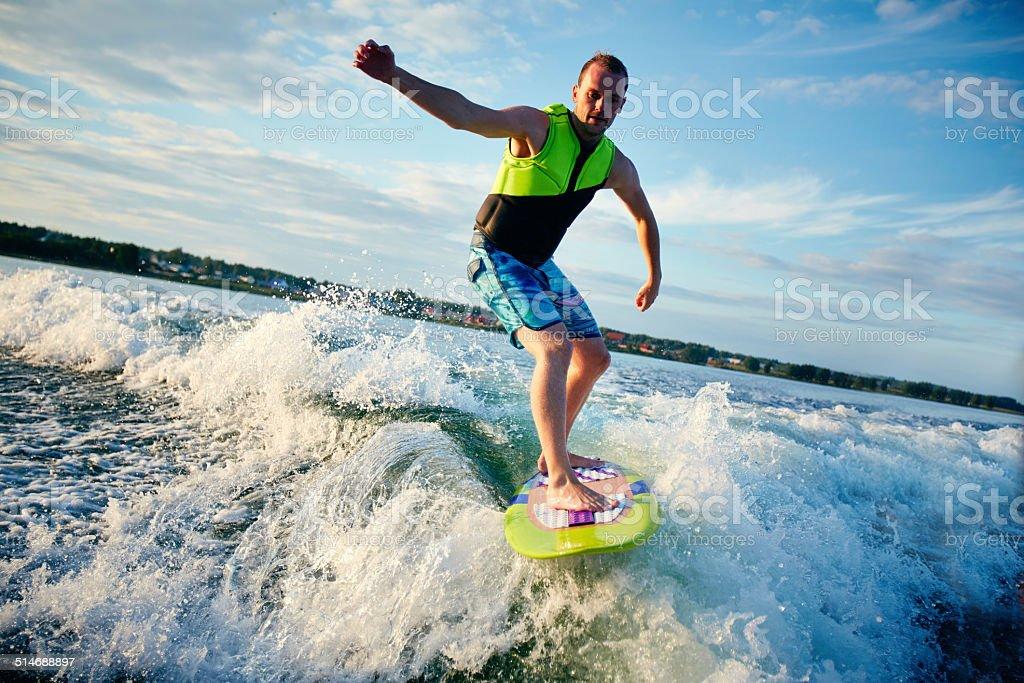 Summer recreation stock photo