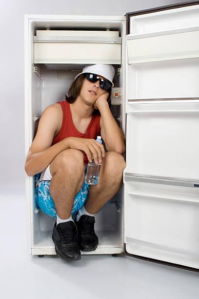 summer refreshment stock photo