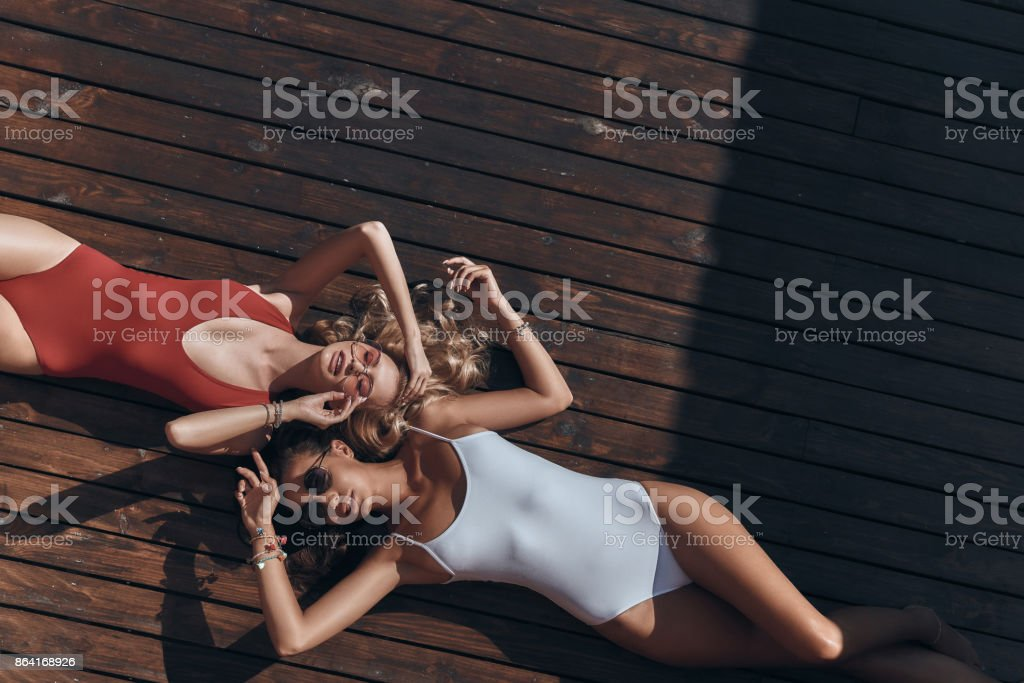 Summer relaxation. royalty-free stock photo
