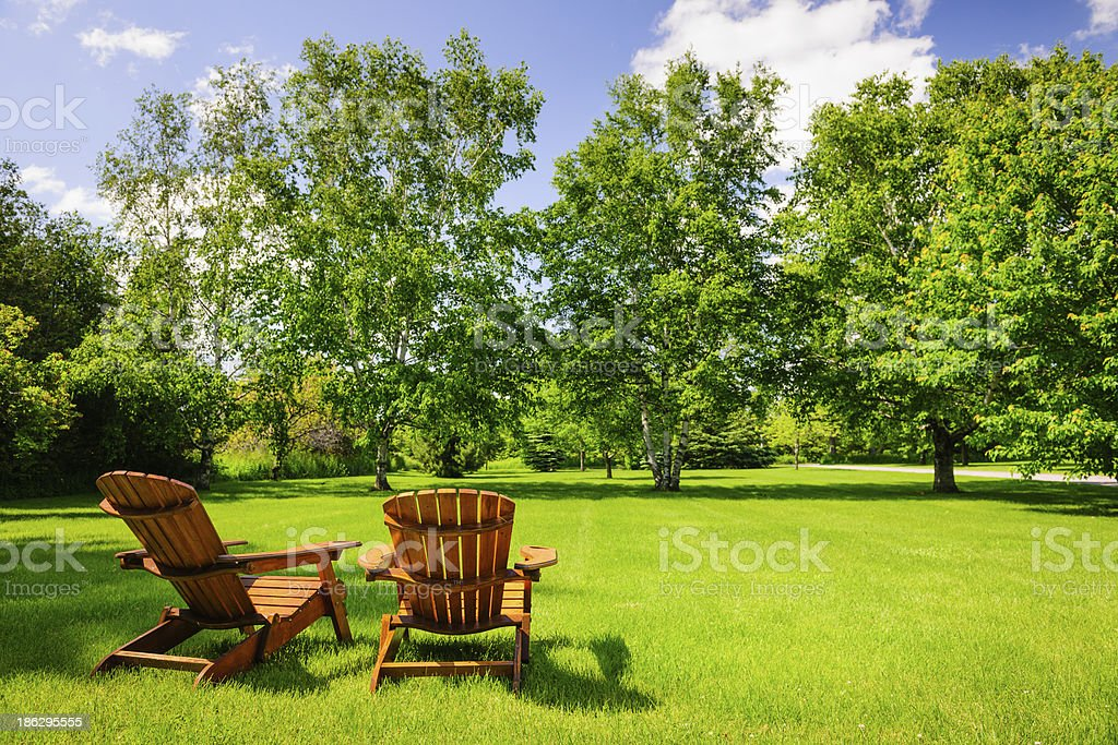 Summer relaxing stock photo