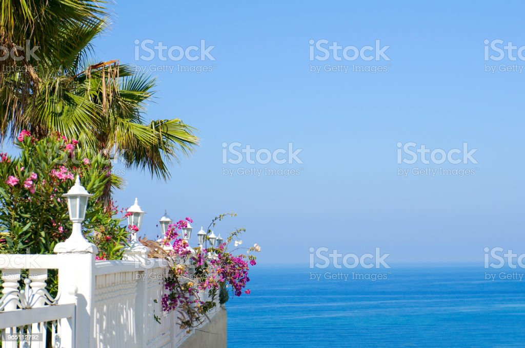 Summer resort royalty-free stock photo