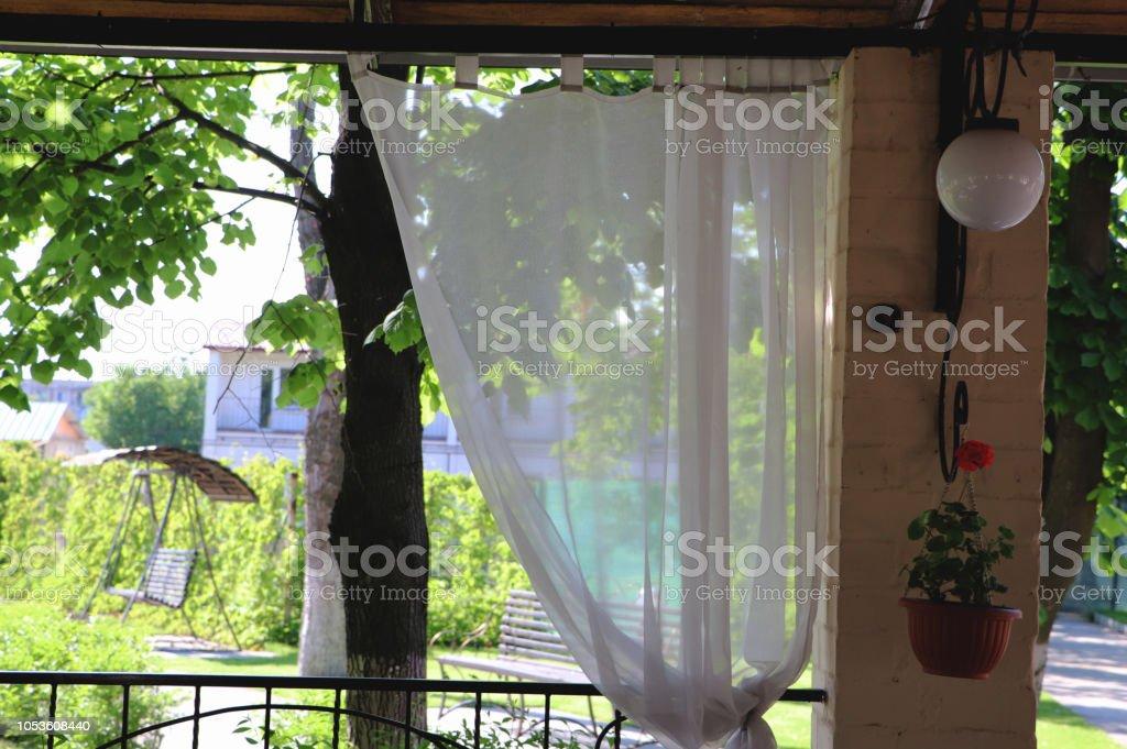 Terraza Del Restaurante O Terraza Interior Con Espacios