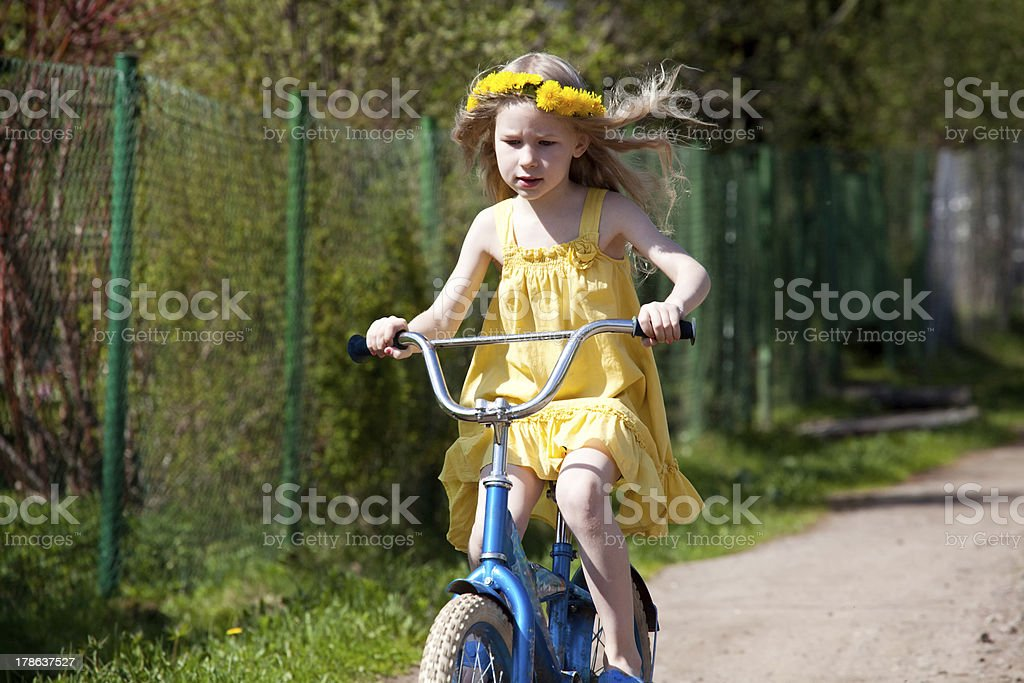 summer riding royalty-free stock photo