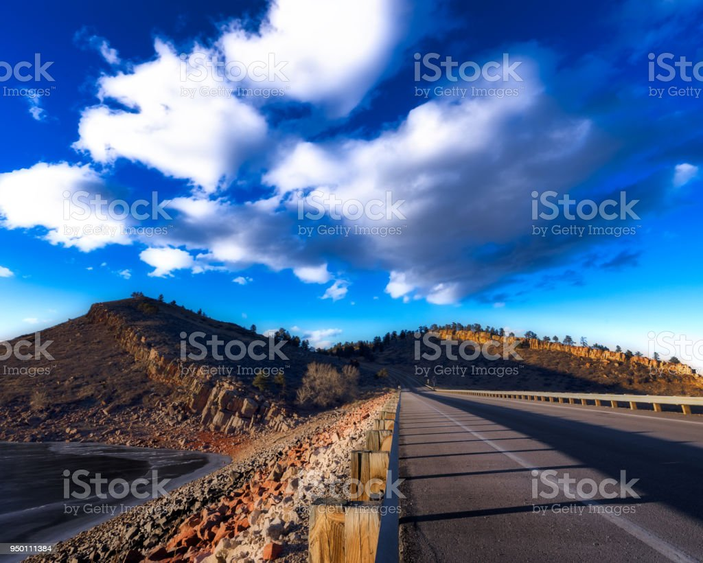 Summer Road stock photo