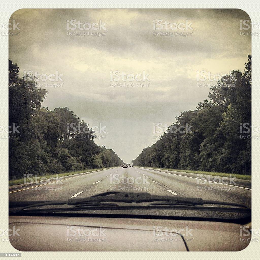 Summer Road Trip stock photo