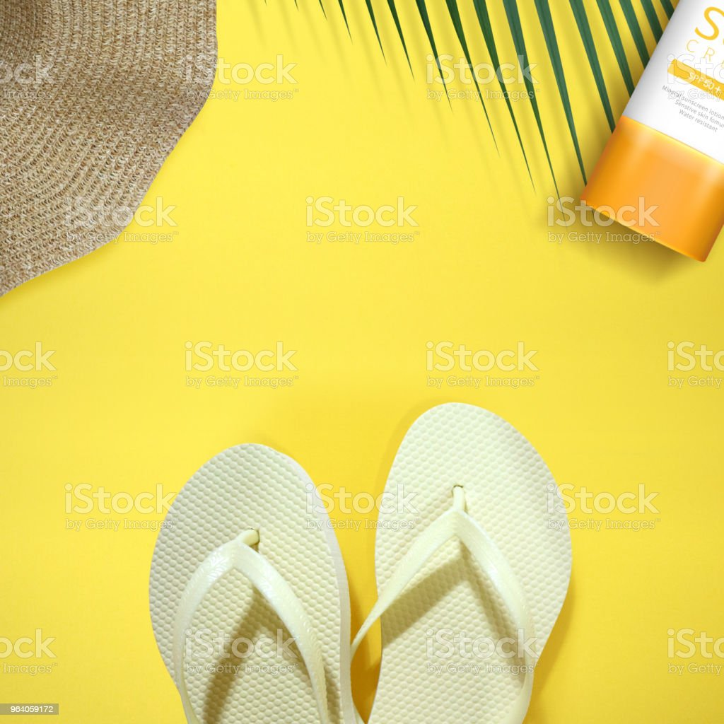 summer sale frame & background - Royalty-free Beauty Product Stock Photo