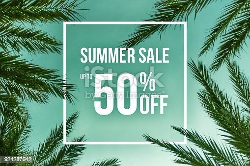 istock Summer Sale Up To 50% Off Sale 924287642