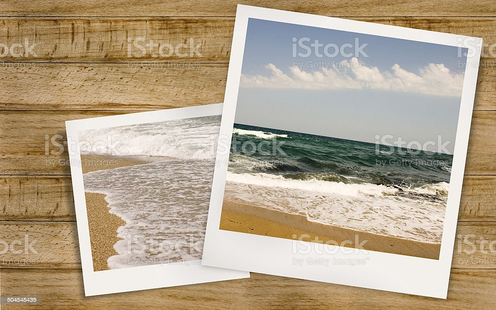 Summer sea stock photo