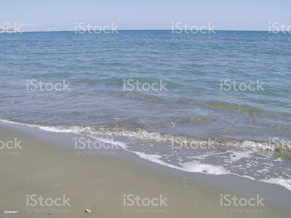 Summer Sea view royalty-free stock photo