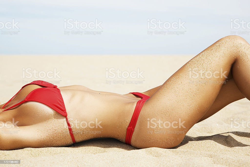 Summer Shape stock photo