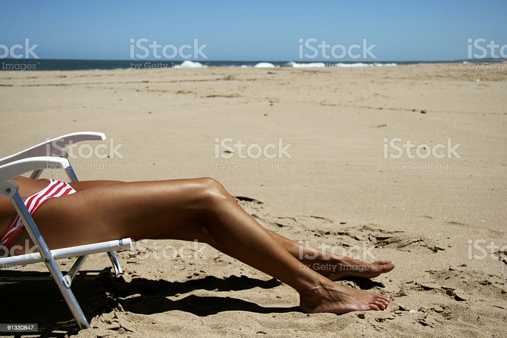 Summer Shape stock photo