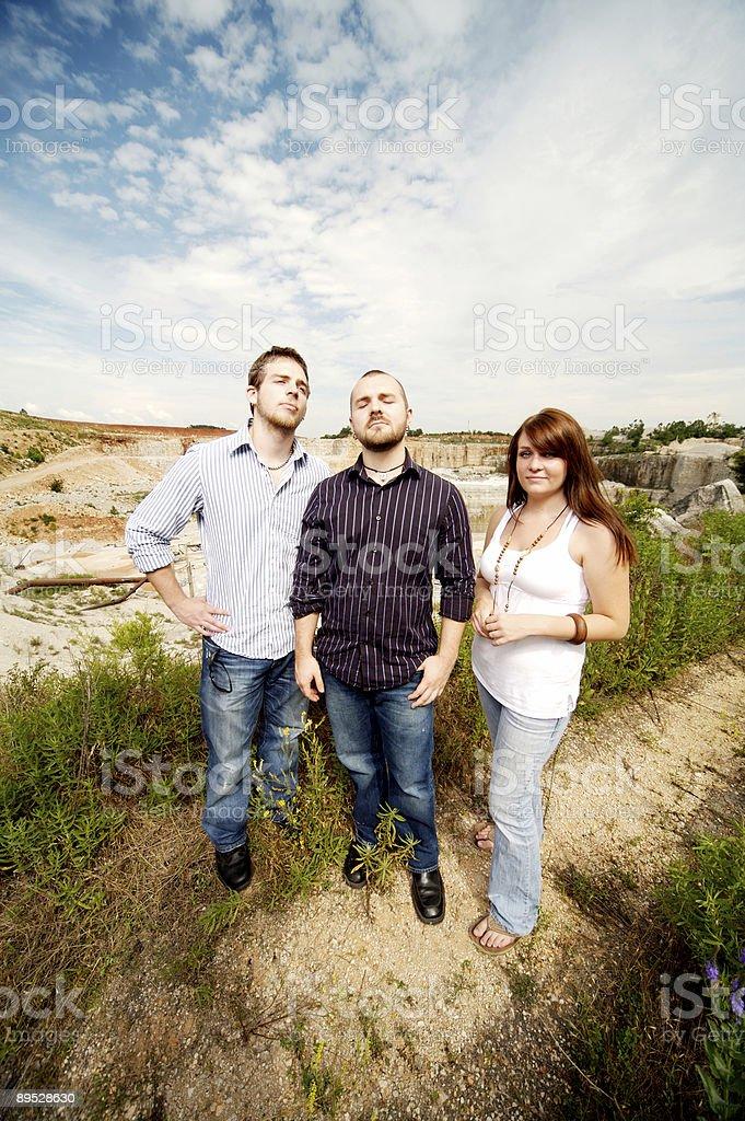 Sommer Geschwister Porträts Lizenzfreies stock-foto