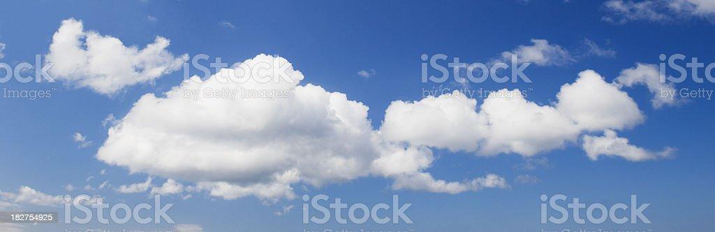 Summer sky royalty-free stock photo