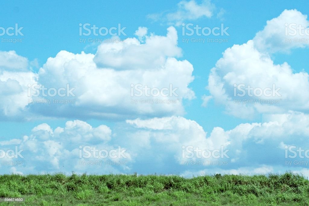Summer sky stock photo