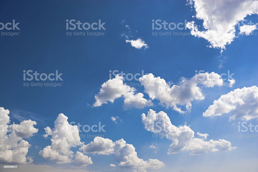 summer sky royalty-free stock photo