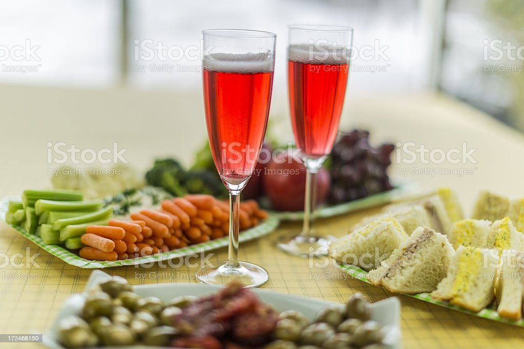 Summer snack royalty-free stock photo