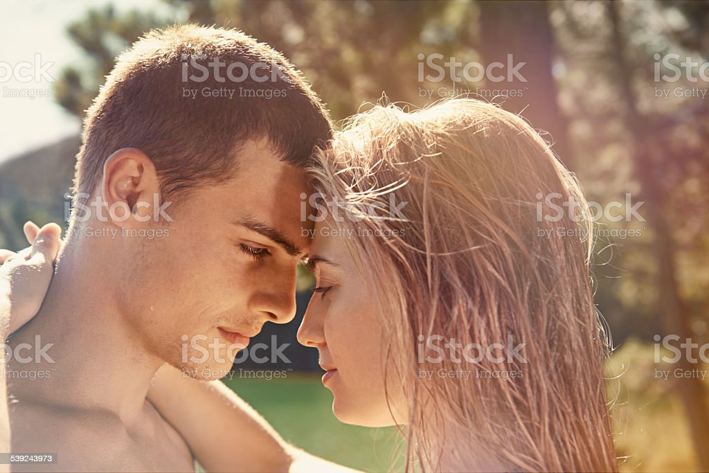 Summer soulmates royalty-free stock photo