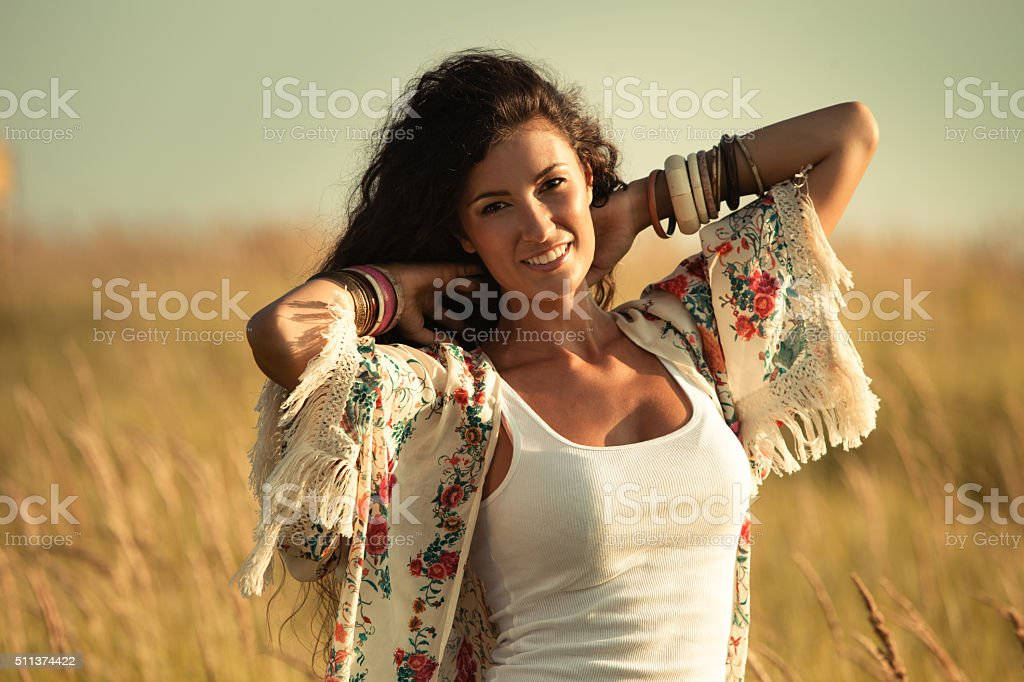 summer spirit stock photo