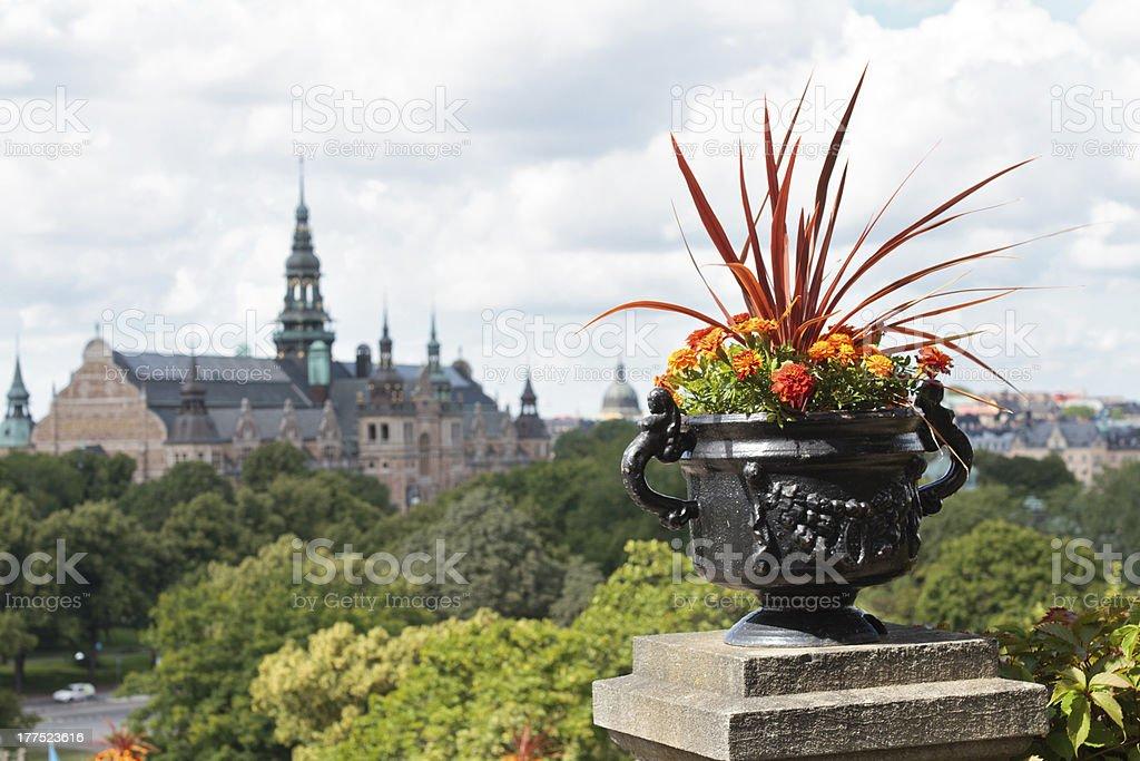 Summer Stockholm royalty-free stock photo