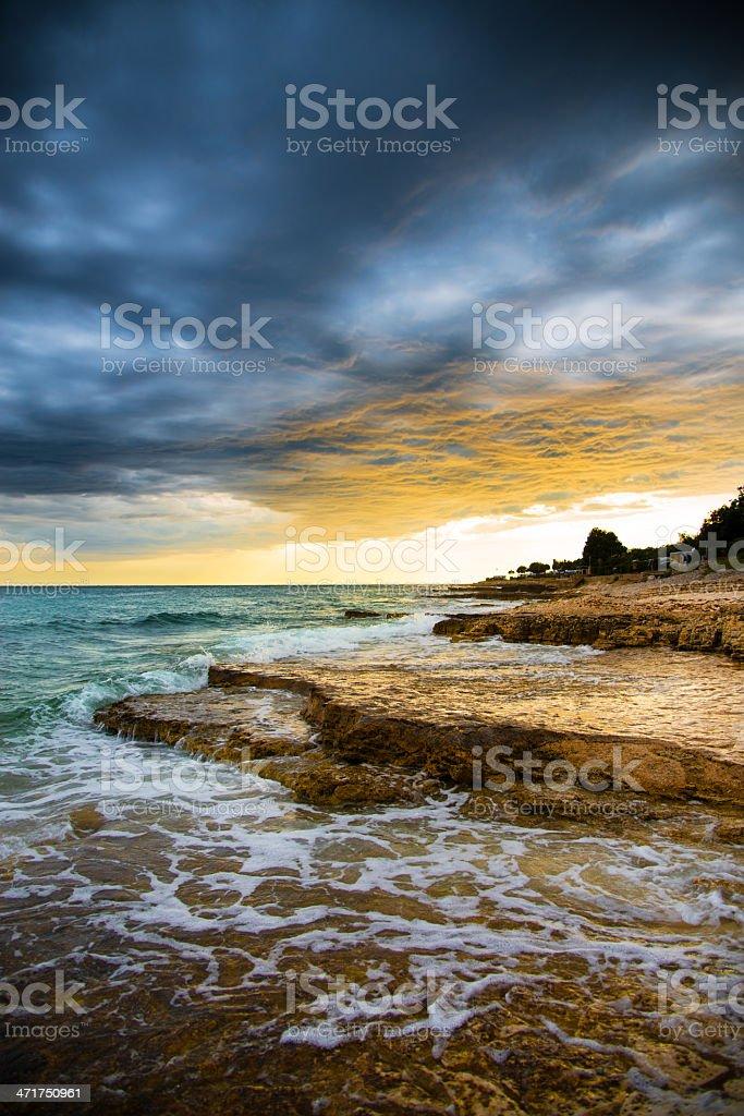 Summer storm royalty-free stock photo
