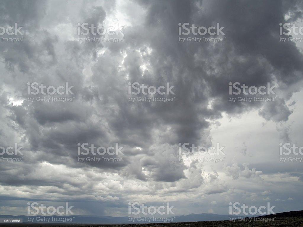 여름 폭풍 royalty-free 스톡 사진