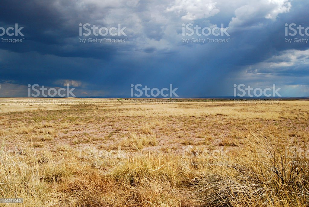 Summer storms stock photo