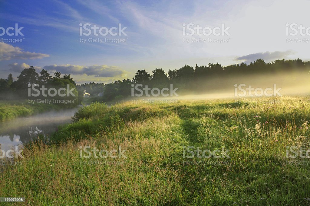 summer sunrise royalty-free stock photo
