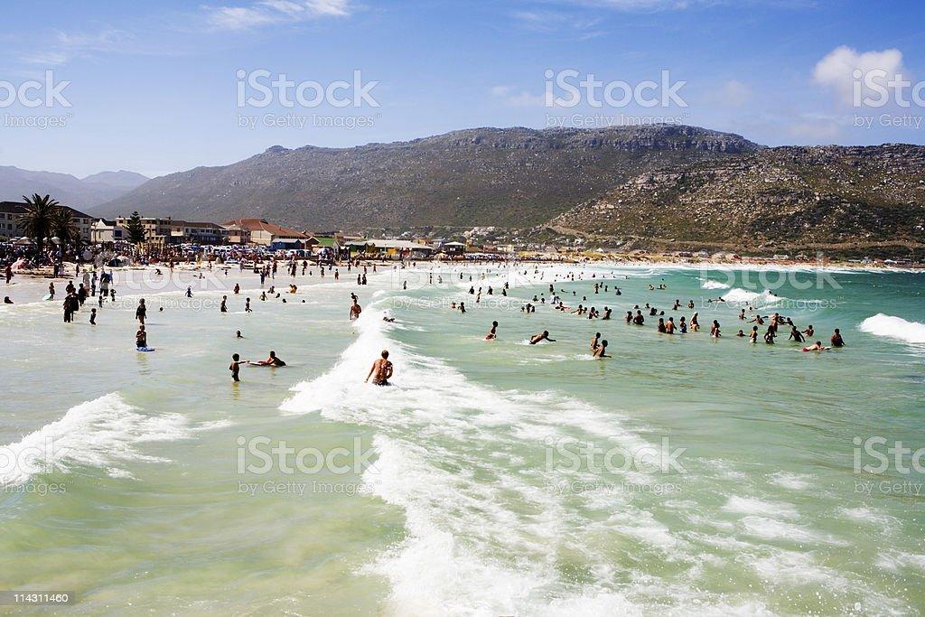 Summer surf fun royalty-free stock photo
