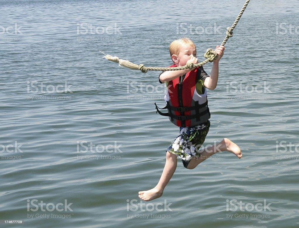summer swim fun. royalty-free stock photo