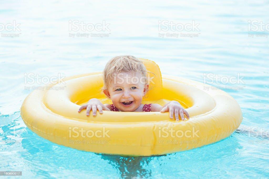 Summer Swim royalty-free stock photo