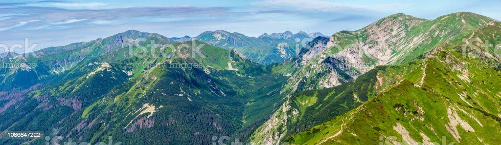 Bergsommer-Tatra, Polen – Foto