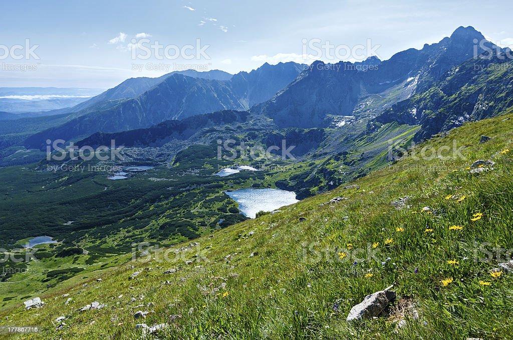 Summer Tatra Mountain, Poland royalty-free stock photo