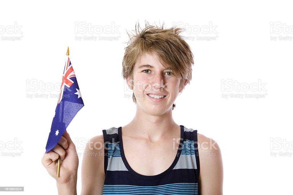 Summer Teen Boy royalty-free stock photo
