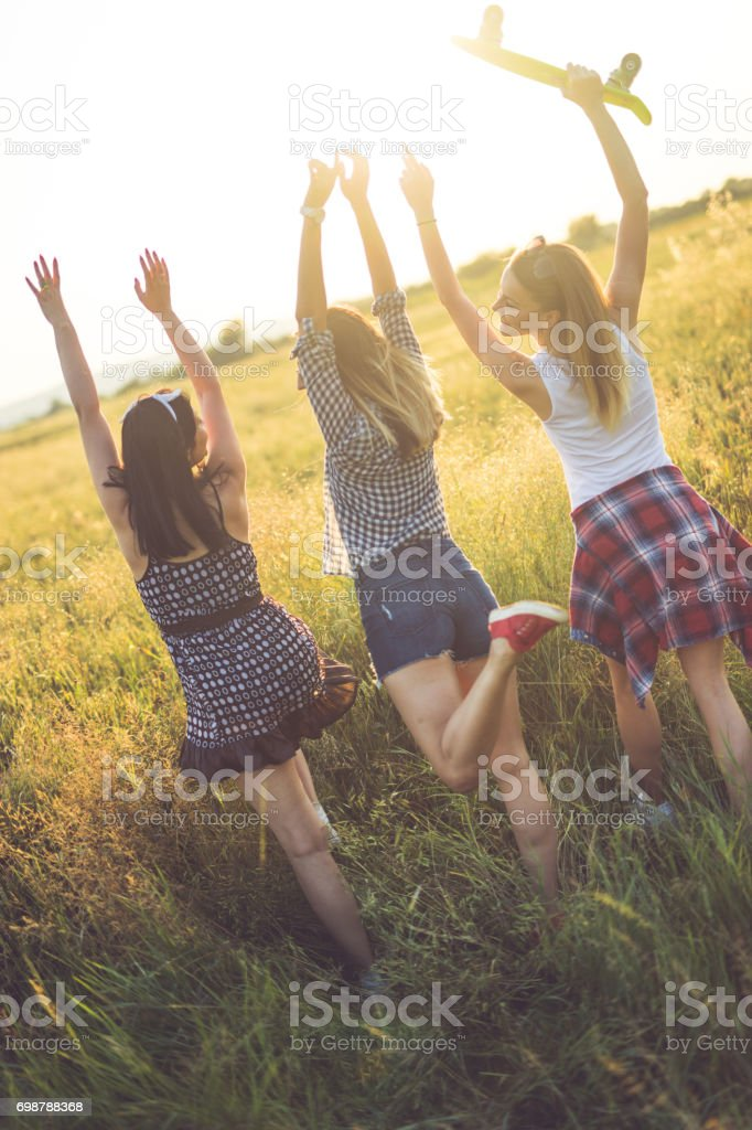 Summer time adventures stock photo