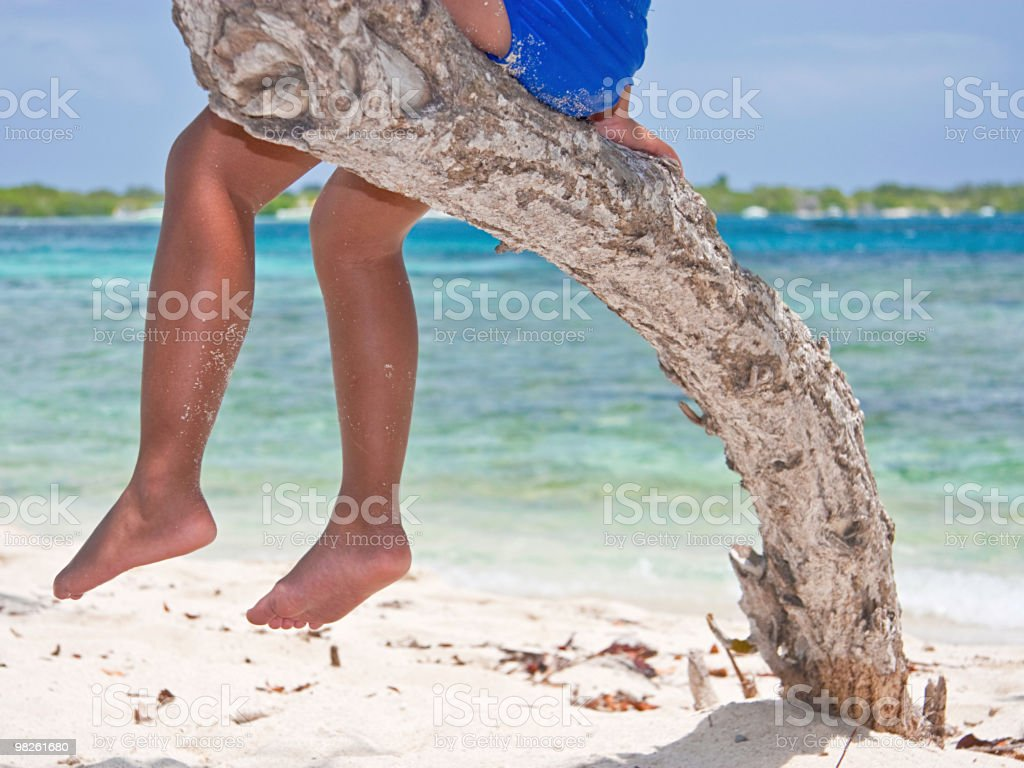 Summer Time Feet royalty-free stock photo