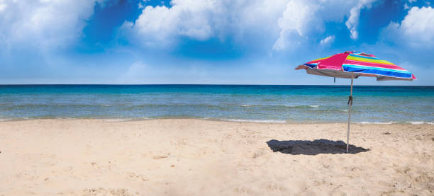 Summer time, travel concept, Spain stock photo