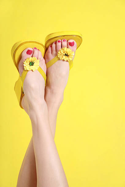 Summer Toes stock photo