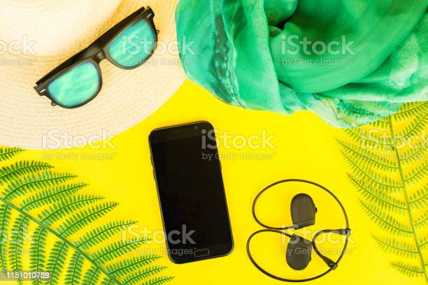 Photo of Summer, travel, vacation concept flat lay.