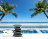 Summer Tropical Beach Relaxation