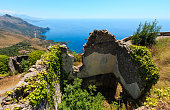 Summer Tyrrhenian sea coast, Maratea, Italy