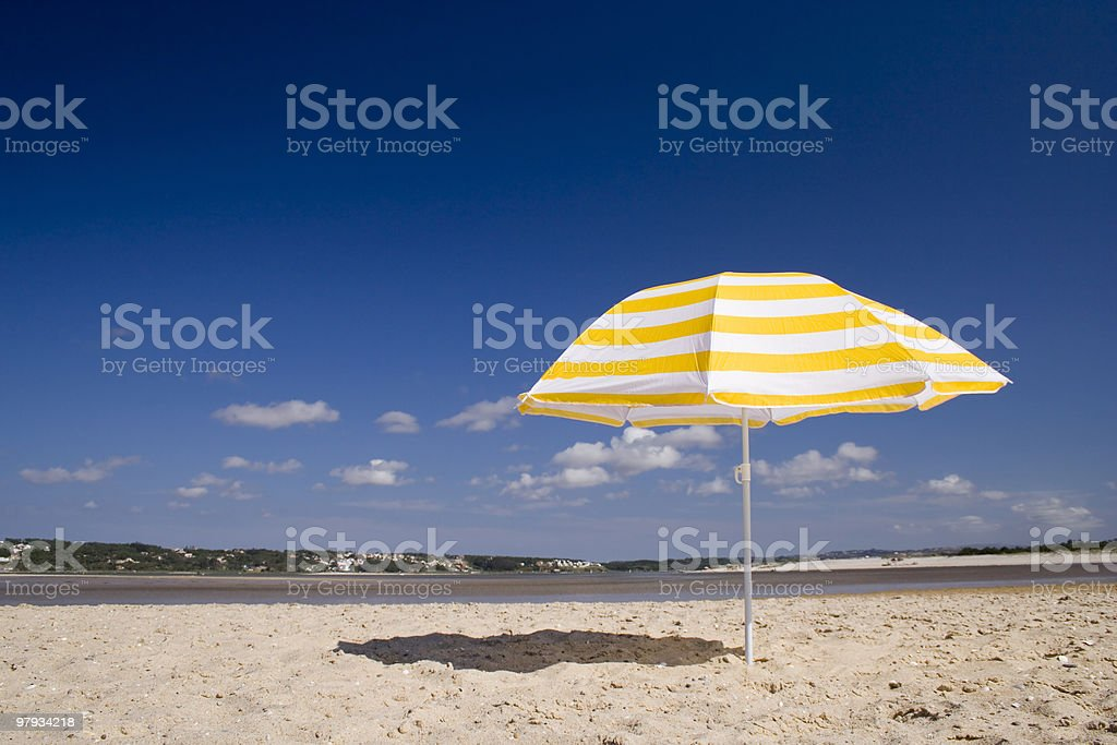 summer umbrela royalty-free stock photo