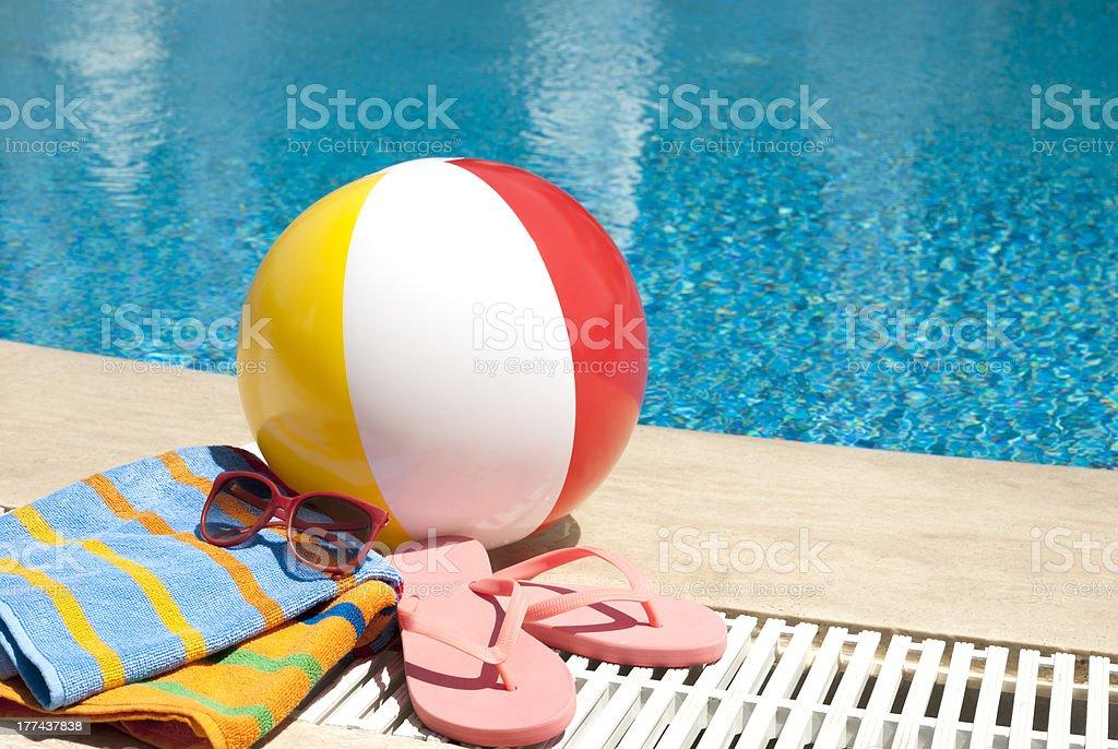 Summer vacation accessories foto
