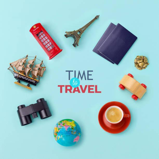 Summer vacation banner design stock photo