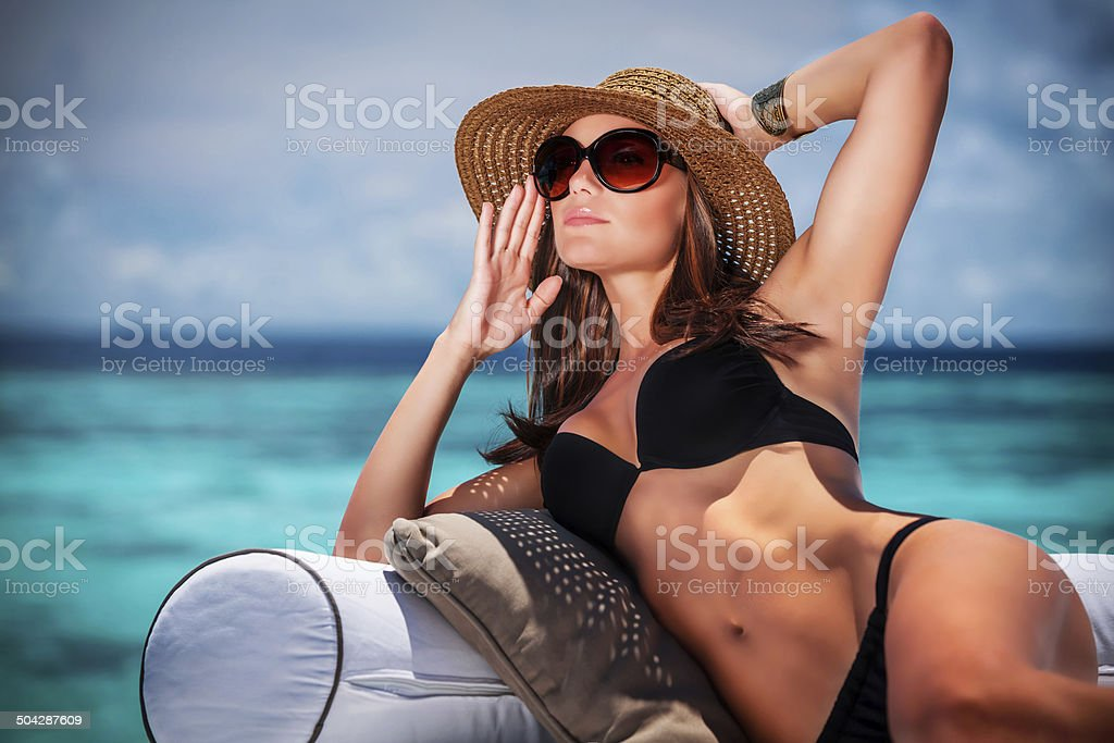 Summer vacation concept stock photo