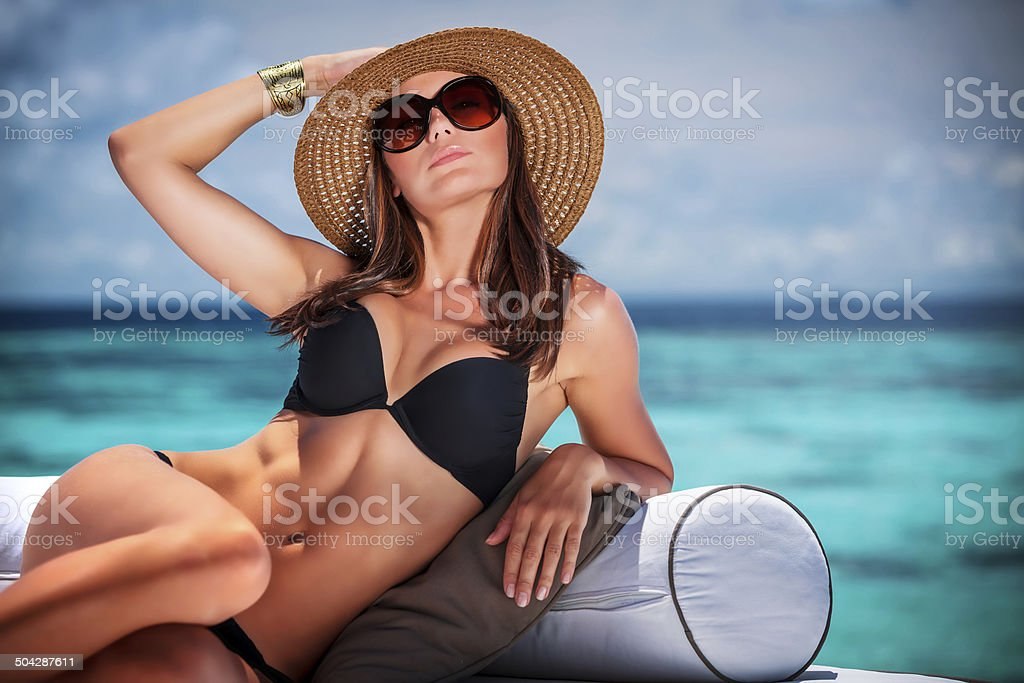 Summer vacation concept - Royalty-free Adult Stock Photo