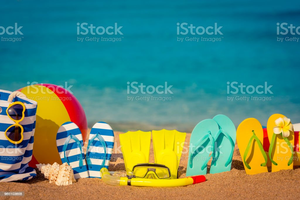 Summer vacation concept royalty-free stock photo