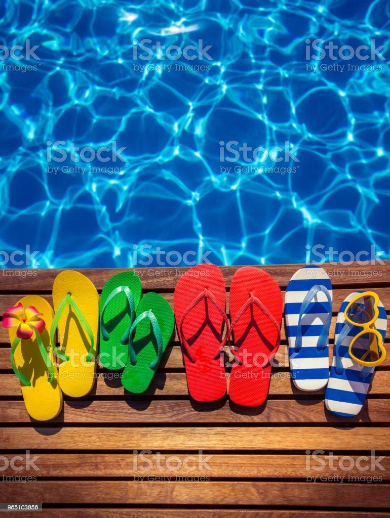 Sommer-Urlaub-Konzept – Foto